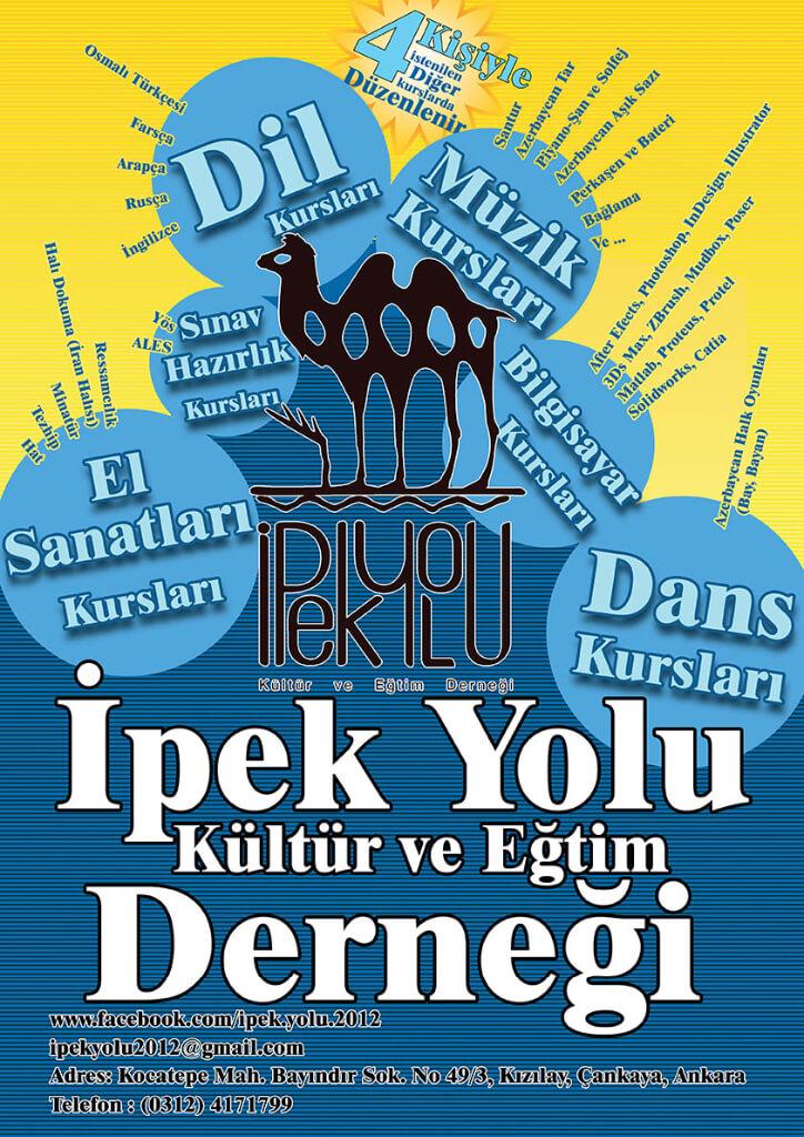 Ipek Yolu Dernegi Reklam Asif Tasarimi Ankara