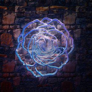 3D duvar kağıdı tasatımı Rose