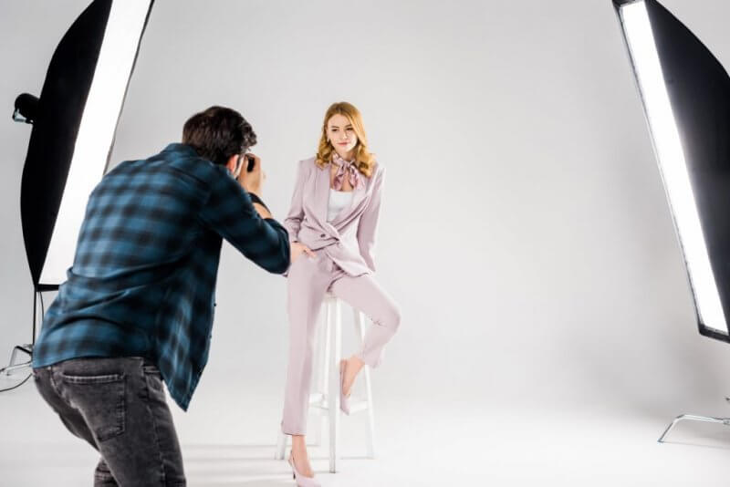Model Studio Fotograf Cekimi